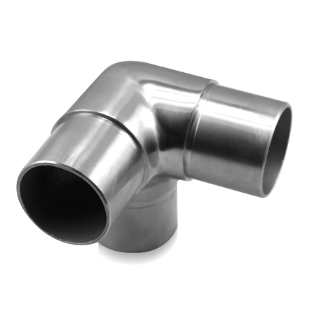 Connector 3 way 90° OD 42.4x2.0 mm | Product photo