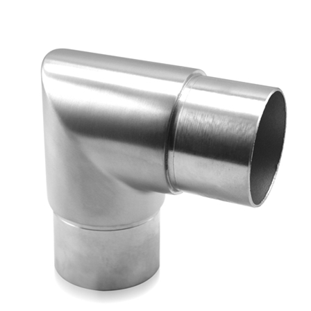 Connector 42.4x2.0 mm 90° Sharp Corner | Product photo