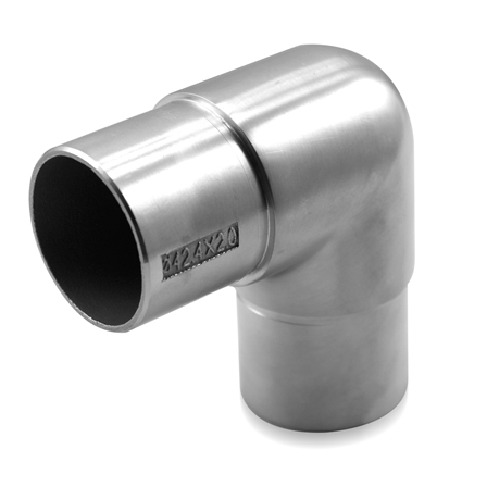 Connector 42.4x2.0 mm 90° Round Corner | Product photo
