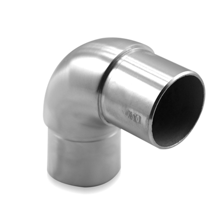 Connector 42.4x2.0 mm 90° Curved Corner | Product photo