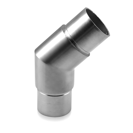 Connector 42.4x2.0 mm 135° Sharp Corner | Product photo
