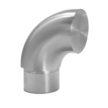End Cap 42.4x2.0 mm 90° Scroll Down Short | Product photo