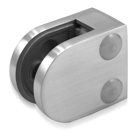 Glass Clamp 40x50 mm Flat 6/8/8.76 mm (M8) | Product photo