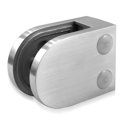 Glass Clamp 45x63 mm Flat 8/8.76/10 mm (M8)   Product photo