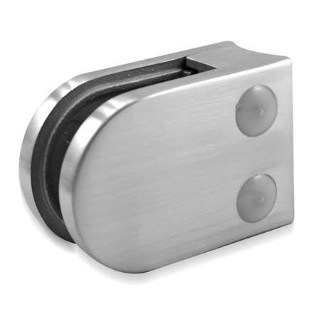 Glass Clamp 45x63 mm OD 42.4 mm 8/8.76/10 mm (M8) | Product photo