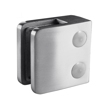 Glass Clamp 45x45 mm Flat 6/8/8.76 mm (M8) | Product photo