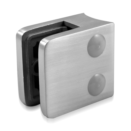Glass Clamp 45x45 mm OD 42.4 mm 6/8/8.76 mm (M8) | Product photo