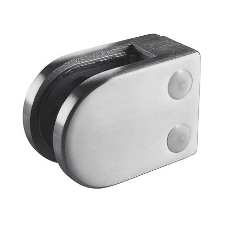 Zn Lasikiinnike 45x63 mm tasainen M8 lasi 8/8.76/10 mm | Tuotekuva
