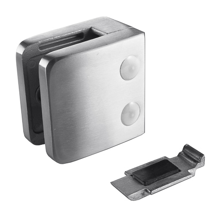 Glass Clamp 55x55 Flat, Securing Plate | Product photo