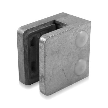 Glass Clamp 45x45 mm Flat 6/8/8.76 mm (M8)   Product photo