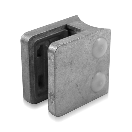 Glass Clamp 45x45 mm OD 42.4 mm 6/8/8.76 mm (M8)   Product photo