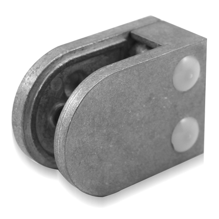 Glass Clamp 45x63 mm Flat 8/8.76/10 mm (M8) | Product photo