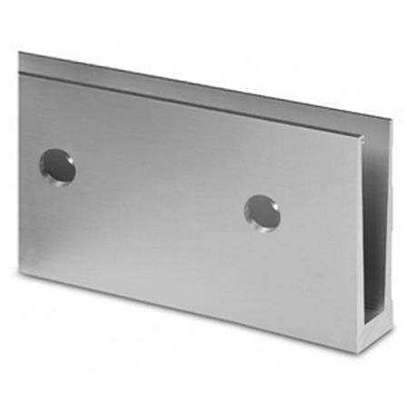 Glass Railing Wall Slim U-Profile L=5.0 m | Product photo