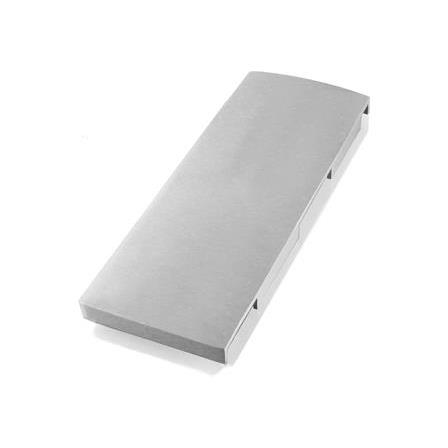 Glass Railing Wall Slim U-Profile Anodized End Cap Right   Product photo