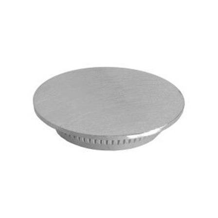 Glass Railing Wall Slim Profile Anodized Hole Cap | Product photo