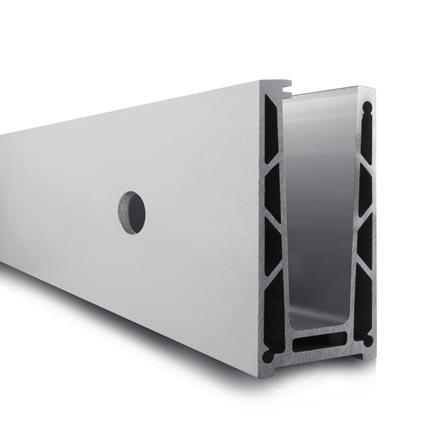 Glass Railing Wall Profile Anodized L=2.5 m | Product photo