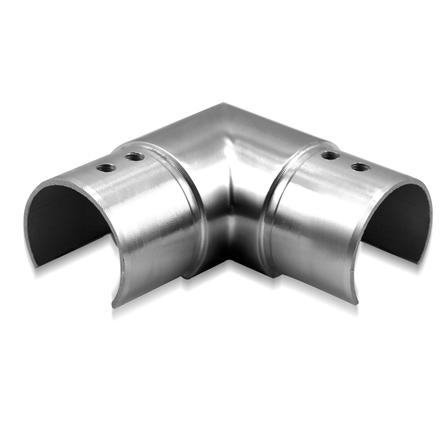 Slot Tube Connector 42.4x1.5 mm 90° Horizontal   Product photo