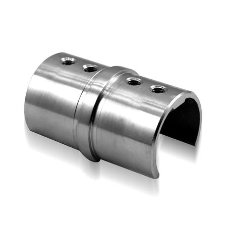 Slot Tube Connector 42.4x1.5 mm 180° Straight | Product photo