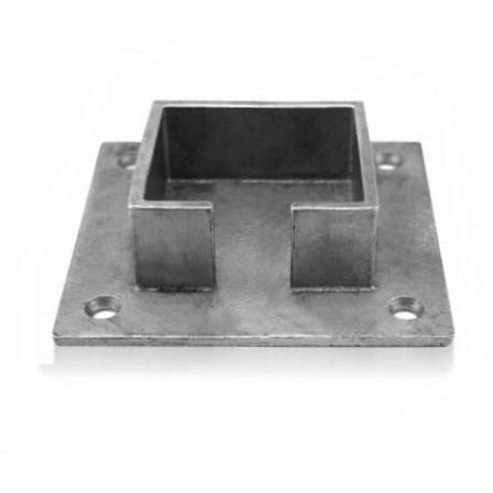 Slot Tube Holder 40x40x1.5 mm Wall-mounted | Product photo