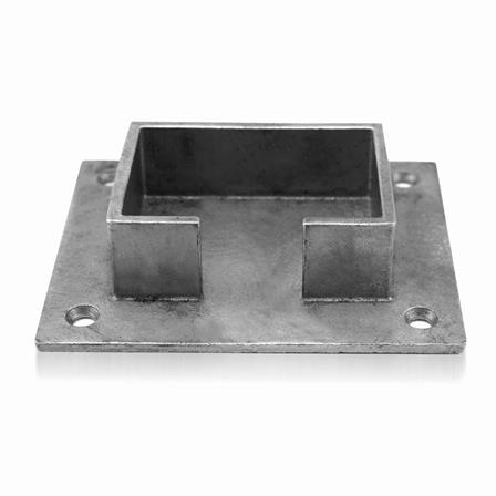 Slot Tube Holder 40x60x1.5 mm Wall-mounted   Product photo