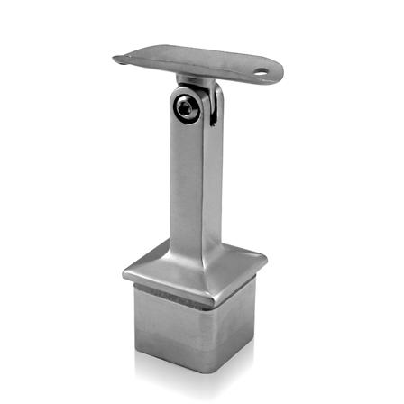 Square Saddle 40x40x2.0 mm OD 42.4 mm Adjustable | Product photo
