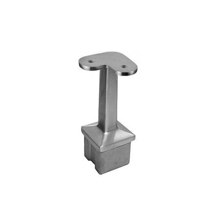 Square tube saddle flat/angle 90° | Product photo